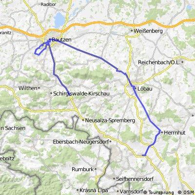 OW - Löbau - Bautzen - Wurbis