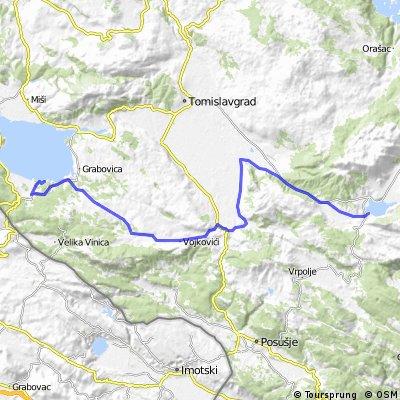 18. Blidinje - Buško jezero, 67km