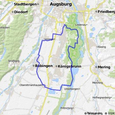 Univiertel Augsburg, Mandichosee, Bobingen