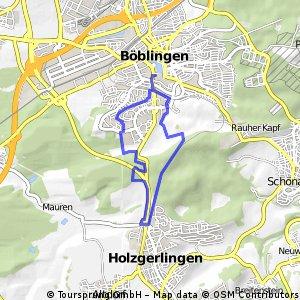 Böblingen-Holzgerlingen-Böblingen