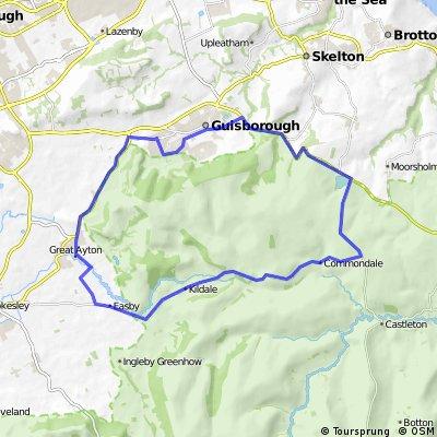 Guisborough - Kildale - Commondale circuit