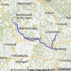 Stangenroth-Bamberg-Bad Staffelstein