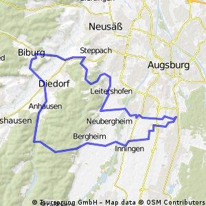 Univiertel Augsburg - Anhauser Tal