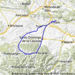 Vuelta a los Valles del Oja-Tiron