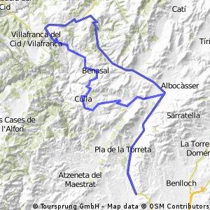 Ibarsos-Ares-Vilafranca-Ares