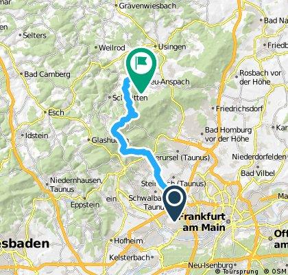 Eschborn - Fuchstanz - Feldberg - Neu-Anspach