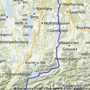 München-Mittenwald-Roadbike