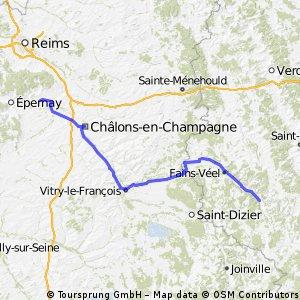 Strassbourg - Paris (3. Tag)