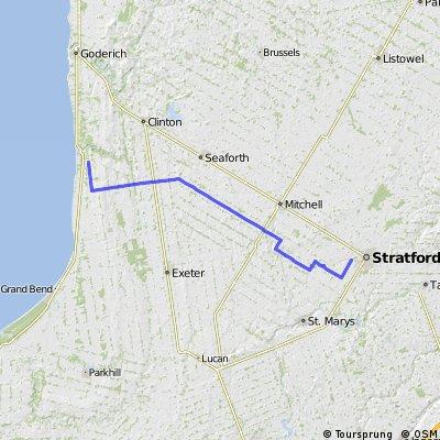 bayfield map