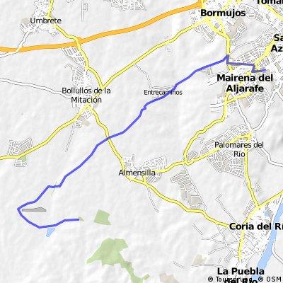 Mairena del Aljarafe - Almensilla (Ermita san Diego)