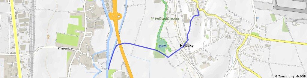 Olympia(soutok)-Holásecká jezera- Brněnské Ivanovice