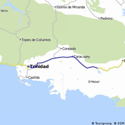 La Guira to Trinidad