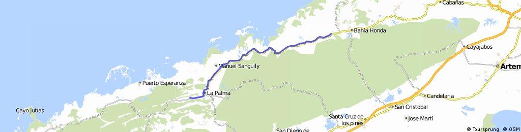 Bahia Honda to La Palma