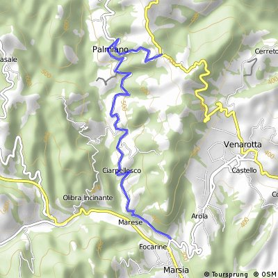 Medio Fondo Colli Ascolani (Salita Roccafluvione-Bivio Force)