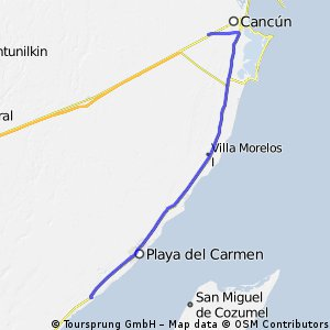 Cancun to Paamul