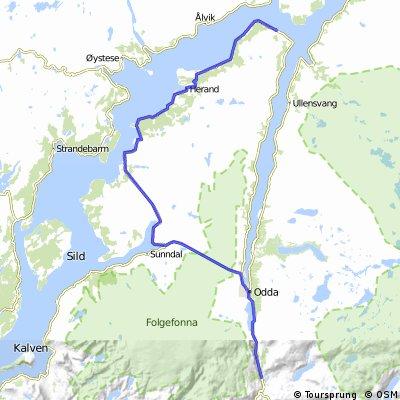 Bergen - Ulvik part 2
