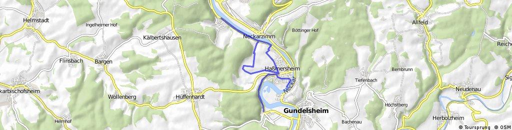 Dupli-Color Neckarfährle Triathlon Radstrecke ab 2013
