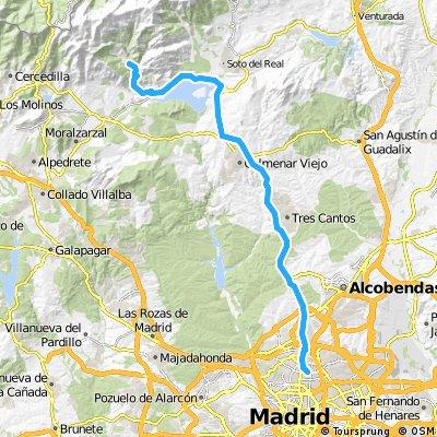 La Pedriza desde Madrid