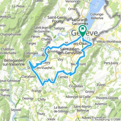 Route des crêtes 2 (Mont Sion & Vuache)