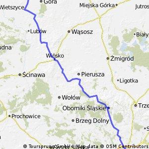 Wrocław - Siciny - Dzień 3 - 100 km