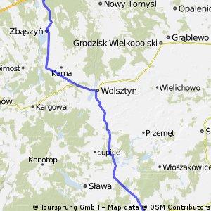 Siciny - Jabłonka Stara - Dzień 4 - 100 km