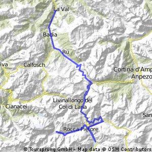 Extremtour Dolomity 09, Den 1