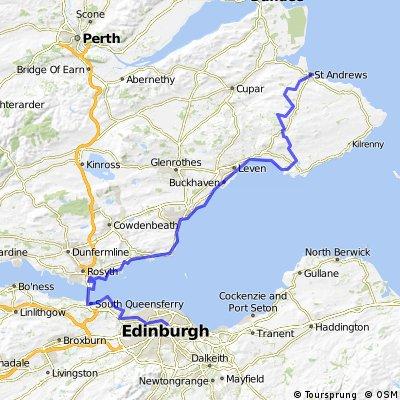 St Margaret's Way - Edinburgh to St Andrews