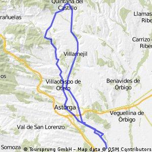 Santibañez - Quintana del Castillo y regreso