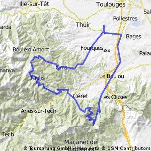 109 km  de Ponteilla