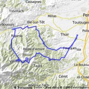 110 km de Ponteilla