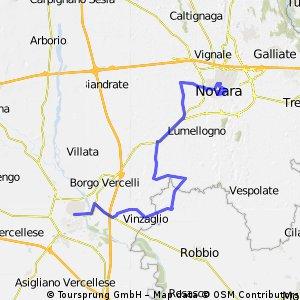 My Giro Stage 10 Vercelli - Novara ITT