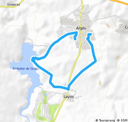 ARGES - LAYOS - PANTANO - ARGES