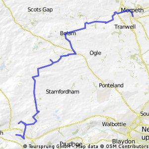 Corbridge - Morpeth