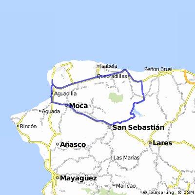 """Aguadilla-San Sebastian """"Lago Guajataca"""""""