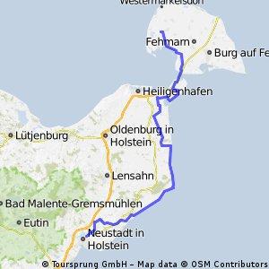 05-04 Von Petersdorf nach Neustadt i. Holst.