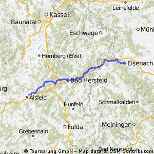 E3 Eudorf - Eisenach