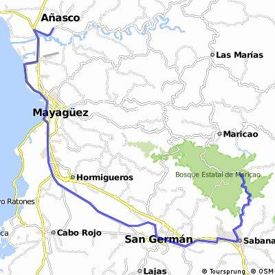 """Anasco-Sabana Grande """"Monte del Estado"""""""