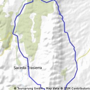 Vellisca-Saceda carretera