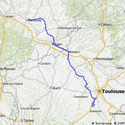 Tour de France 2 6.Etappe Marmande - Muret