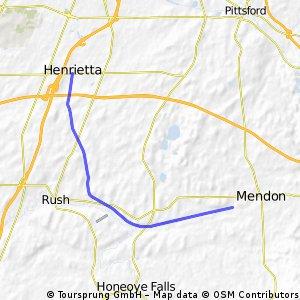 Lehigh Valley - Mendon to Henrietta