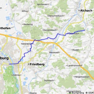 Biergarten Tour: Augsburg - Blumenthal