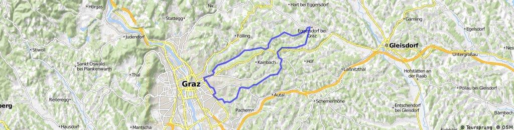Graz - Eggersdorf - Graz CLONED FROM ROUTE 1260508
