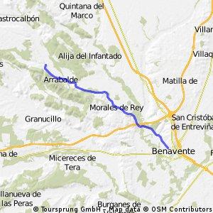 Benavente - Alcubilla de Nogales