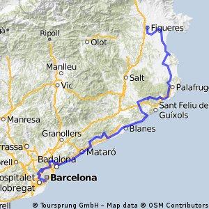 Tour de la Costa Brava