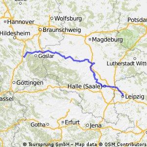 Seesen (Harz) - Leipzig