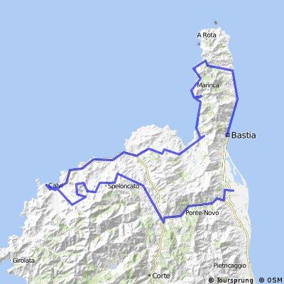 Corsica Cycle