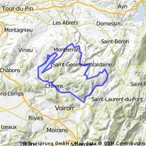 Virieu - Col de Mille Martyrs