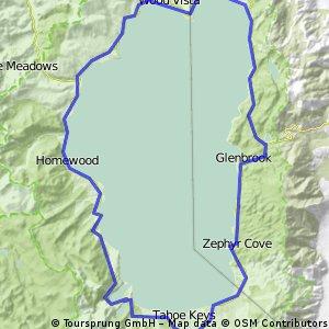loop the lake tahoe