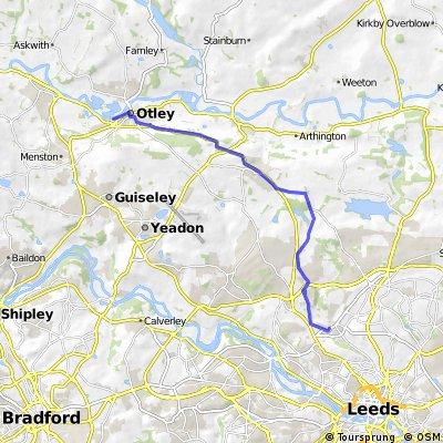 Leeds to Otley