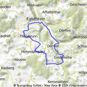 Trainingsrunde 2013-05-28 (ca. 15,1km)